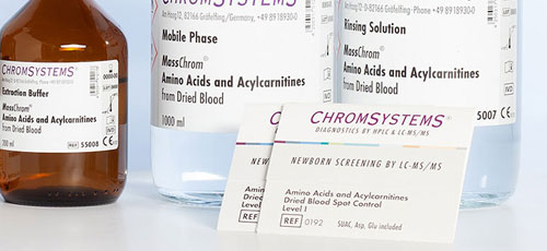 Historie 2007  - erster LC-MS/MS Assay NBS - Chromsystems