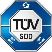 TÜV Süd Logo - Chromsystems