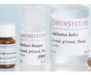 41055 HPLC hydrolysis reagent o-cresol p-cresol phenol urine