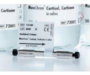 73100 LCMS cortisol cortisone saliva column